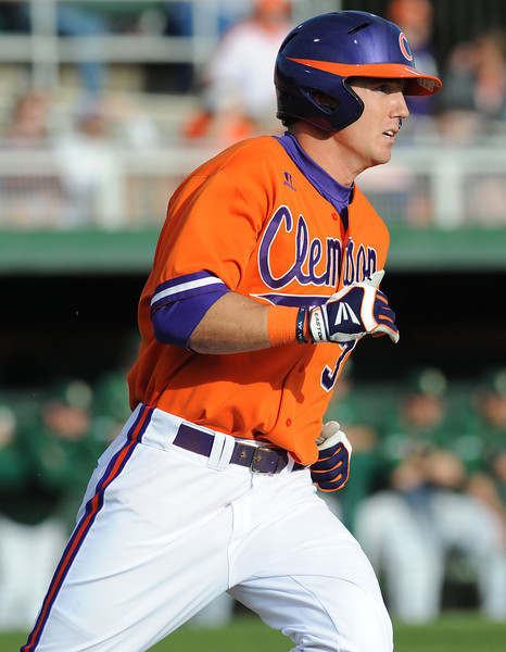 Clemson hosted UAB during their season opener Friday February 17, 2012 Clemson's Doug Kingsmore Stadium. BART BOATWRIGHT/Staff
