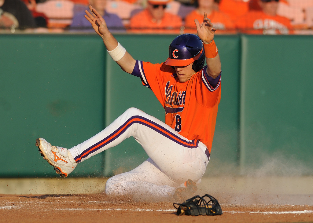 Clemson hosted Eastern Michigan during the Tigers season opener Friday, February 18, 2011 at Clemson&#39;s Doug Kingsmore Stadium. BART BOATWRIGHT/Staff