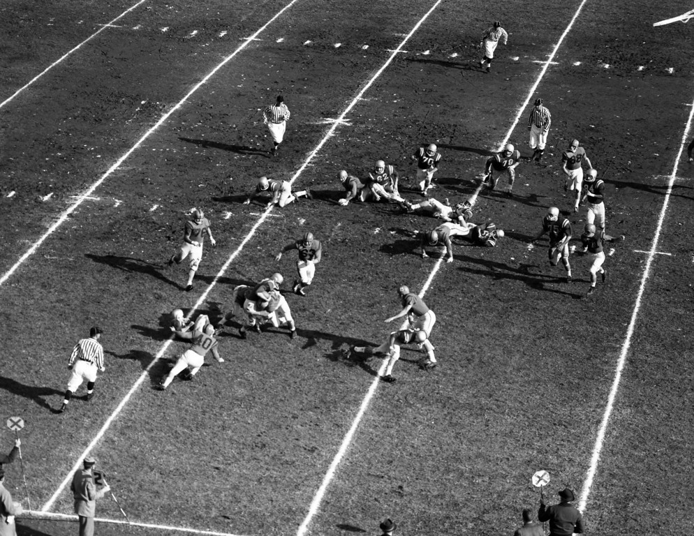 Furman hosted Clemson Saturday, November 17 1951 at Sirrine Stadium in downtown Greenville. The Tigers defeated the Hurricanes 34-14.